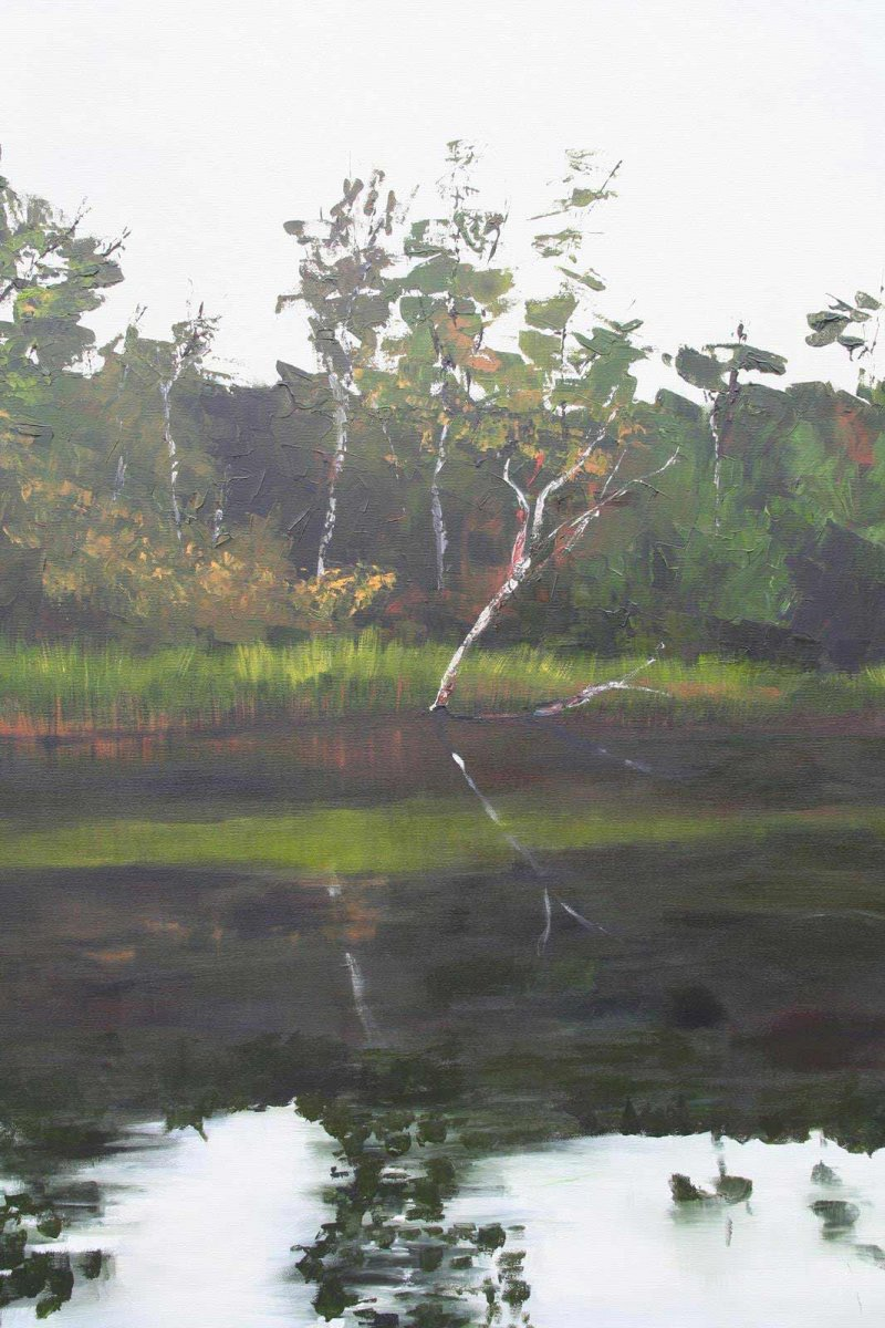 Glenelg River 4, acrylic on canvas, painting by Heather Wood for sale for $980.
