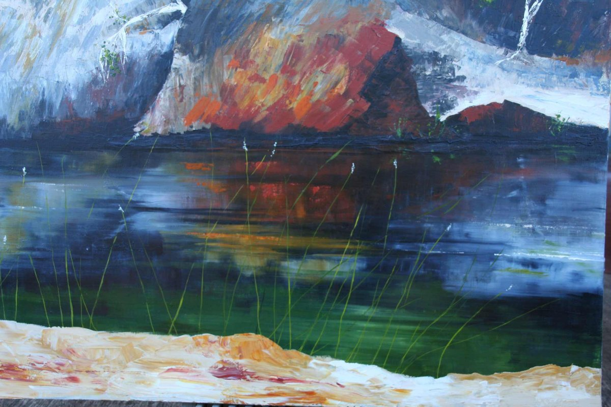 IMG9287, painting by artist Heather Wood.