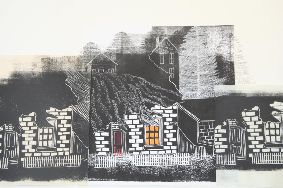 IMG_5950, print by artist Heather Wood