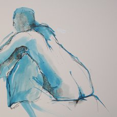 Unnamed, drawing by artist Heather Wood
